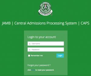 jamb admission list